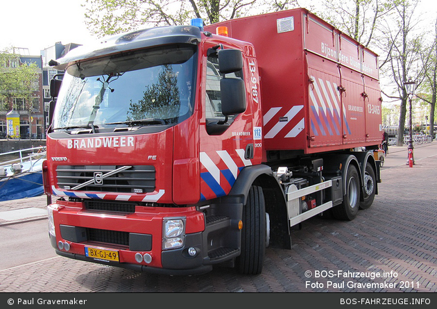 Amsterdam - Brandweer - WLF - 13-9187