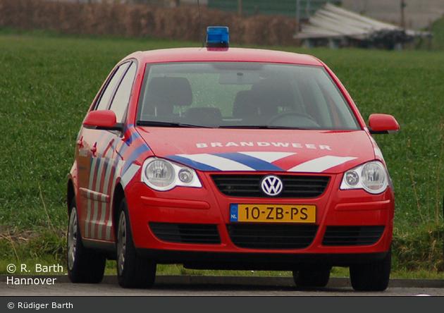 Middelburg - Brandweer - PKW (19-XXXX)