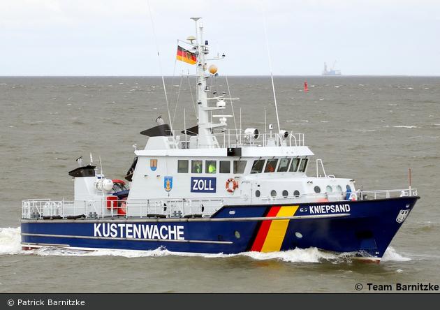 Zollboot Kniepsand