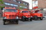 NW - BF Essen - Historische Feuerwehrfahrzeuge