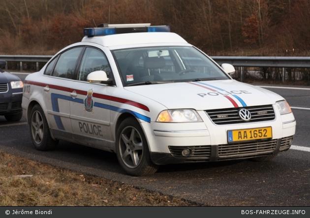 AA 1652 - Police Grand-Ducale - FuSTW (a.D.)