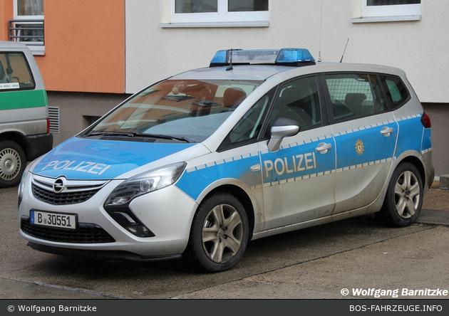 B-30551 - Opel Zafira Tourer - FuStW