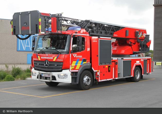Antwerpen - Brandweer - DLK - A27