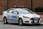 NYPD - Manhattan - Headquarter Security Unit - FuStW 4573