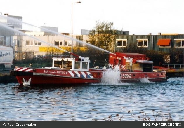 Amsterdam en omstreken - Brandweer - Löschboot - 59-562