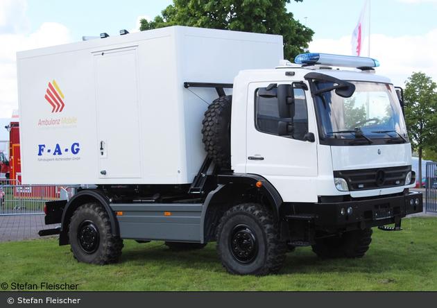 Mercedes-Benz Atego - Ambulanzmobile/FAG - RTW