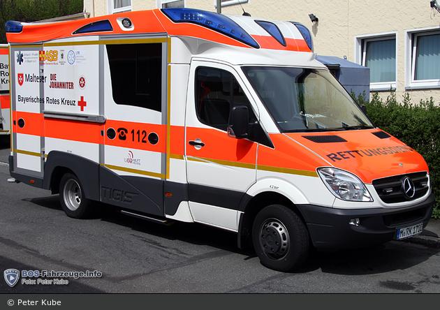 Mercedes-Benz Sprinter 516 CDI - Ambulanzmobile Schönebeck - Testfahrzeug Bayern-RTW