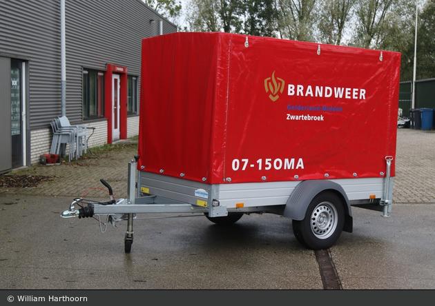 Barneveld - Brandweer - FwA-Übung - 07-15OMA