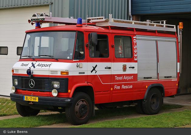De Cocksdorp - Bedrijfsbrandweer Texel Airport - LF - 10-5933