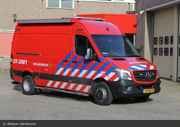 Ede - Brandweer - GW-L - 07-2081