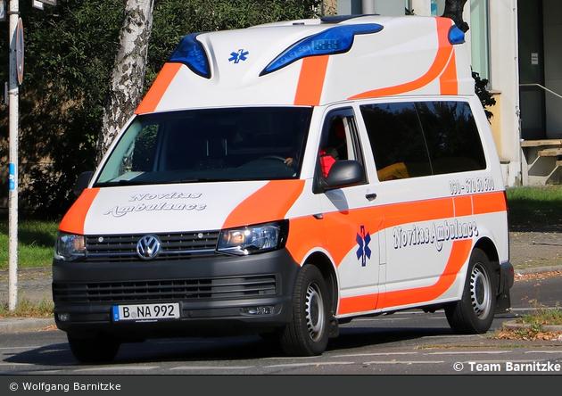 Krankentransport Novitas Ambulance - KTW (B-NA 992)