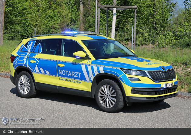 Bern - Sanitätspolizei - NEF - Sano 31