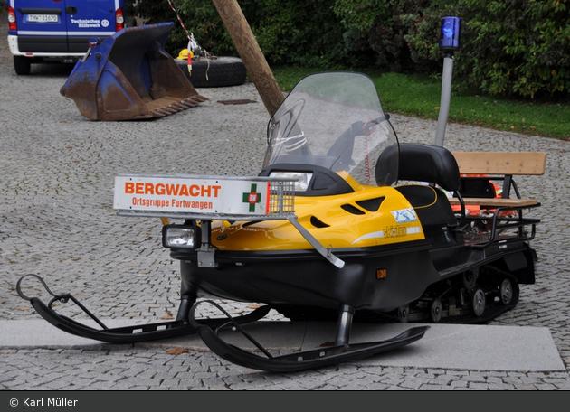 Bergwacht Furtwangen - Motorschlitten Skidoo