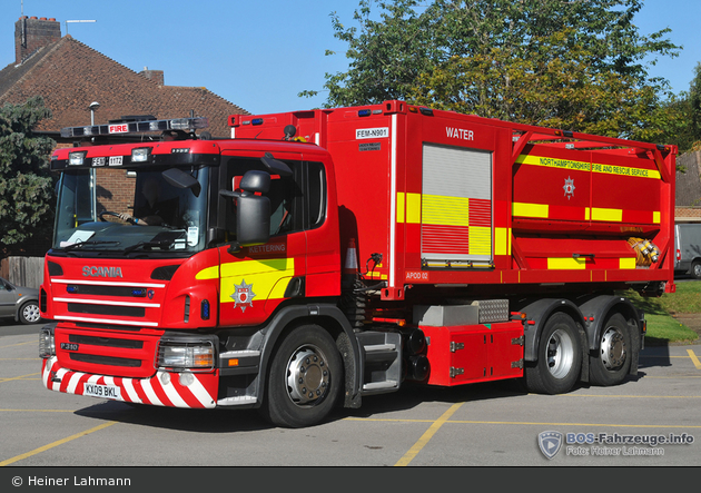 Kettering - Northamptonshire Fire and Rescue Service - PM