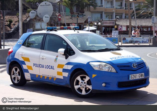 San Bartolomé de Tirajana - Policía Local - FuStW