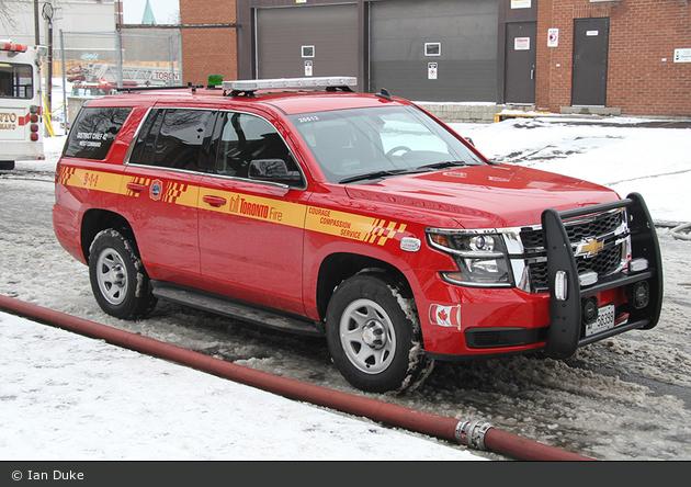 Toronto - Toronto Fire Services - Car 42