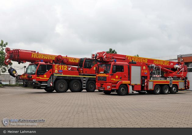 HH - BF Hamburg - F 32 - Kran & TMF
