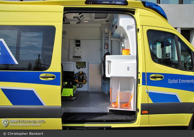 Burgdorf - Spital Emmental - RTW - Betru 14