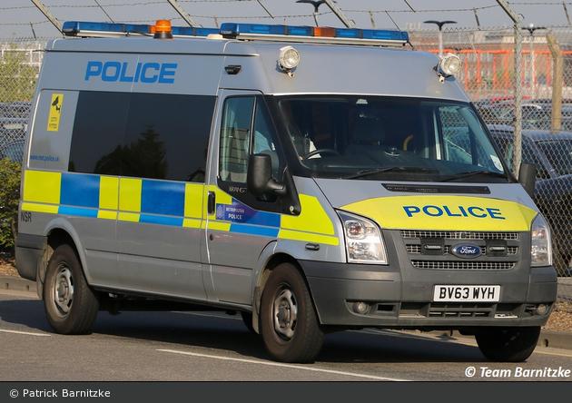 London - Metropolitan Police Service - Aviation Security Operational Command Unit - leMKw - NSR
