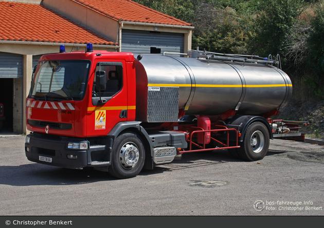 Saint-Cyprien - SDIS 66 - GTLF 10/120 - CCGC