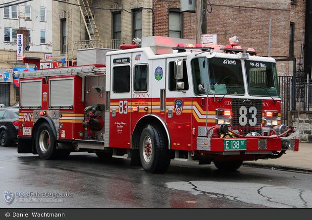 FDNY - Bronx - Engine 083 - TLF