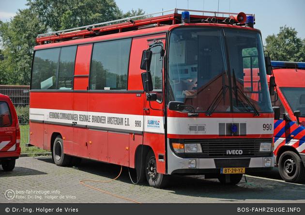 Amsterdam - Brandweer - ELW3 - 59-990 (a.D.)