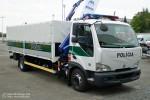 ohne Ort - Polícia - Kontrollstellen-LKW