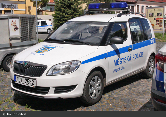 Česká Lípa - Městská Policie - FuStW - 4L2 2582