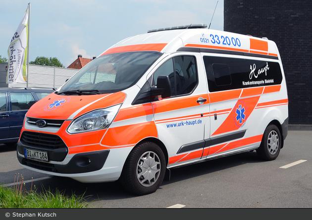 Rettung Bielefeld 08 KTW xx