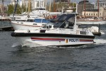 Oslo - Politi - Schnellboot KLAR