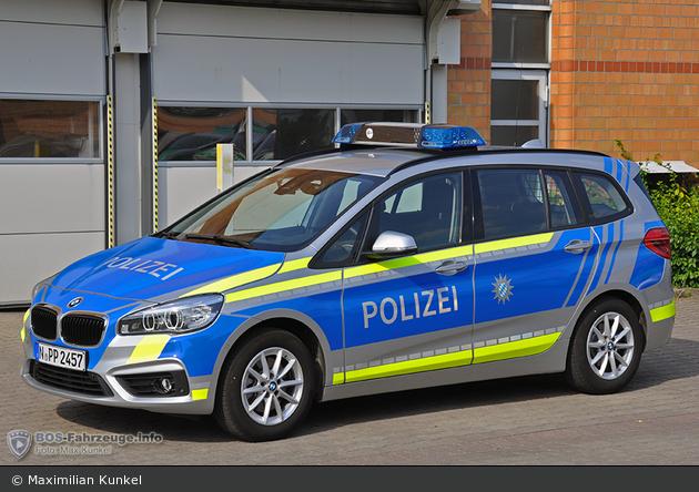 N-PP  2457 - BMW 218d Gran Tourer - FuStW