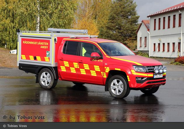 Aneby - Räddningstjänsten Aneby - Transportbil - 2 43-6770