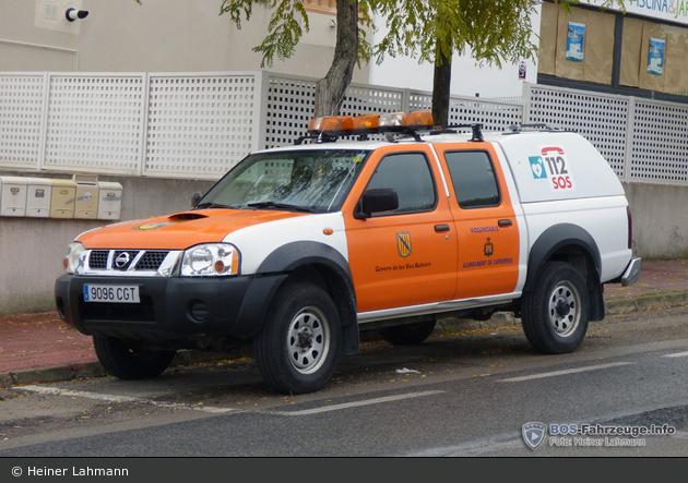Capdepera - Proteccion Civil - MZF - C33