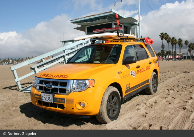 Los Angeles - Los Angeles County Fire Department - Lifeguard Patrol 232 (a.D.)