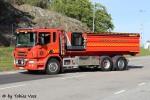 Nynäshamn - Räddningstjänsten Nynas AB - Lastväxlare - 2 37-4340 (a.D.)