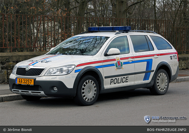 AA 3257 - Police Grand-Ducale - FuStW