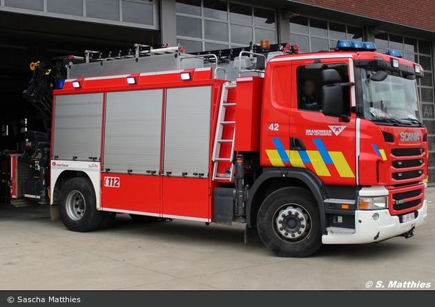 Antwerpen - Brandweer - RW-Kran - A42