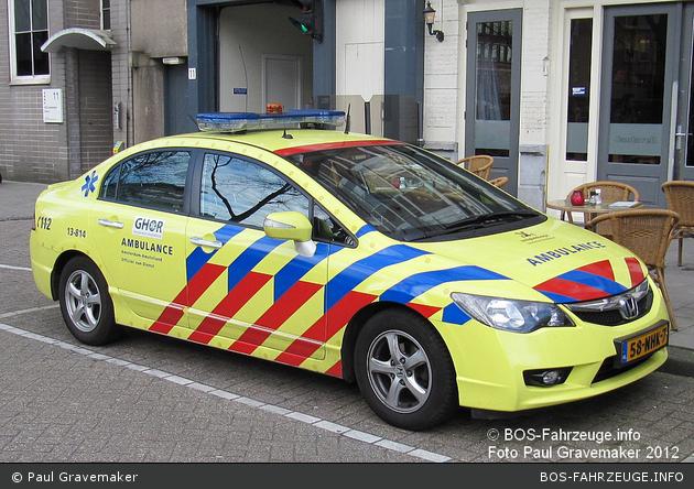 Amsterdam - GHOR - KdoW - 13-814