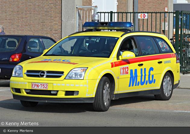 Blankenberge - MUG Algemeen Ziekenhuis Zeno - NEF (a.D.)