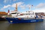 """Wasserschutzpolizei - Büsum - Küstenboot """"Helgoland"""""""