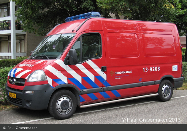 Amsterdam - Brandweer - MZF - 13-9208 (a.D.)