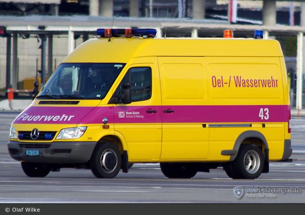 Zürich - Schutz & Rettung - OWF - Florian 43 (alt)