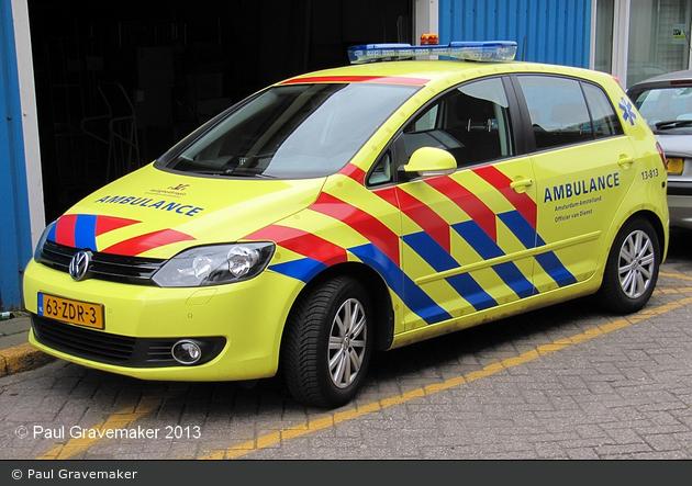 Amsterdam - Ambulance Amsterdam - KdoW - 13-813