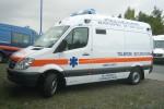 "Bukarest - Militärhospital ""Dr. Carol Davila"" - RTW"
