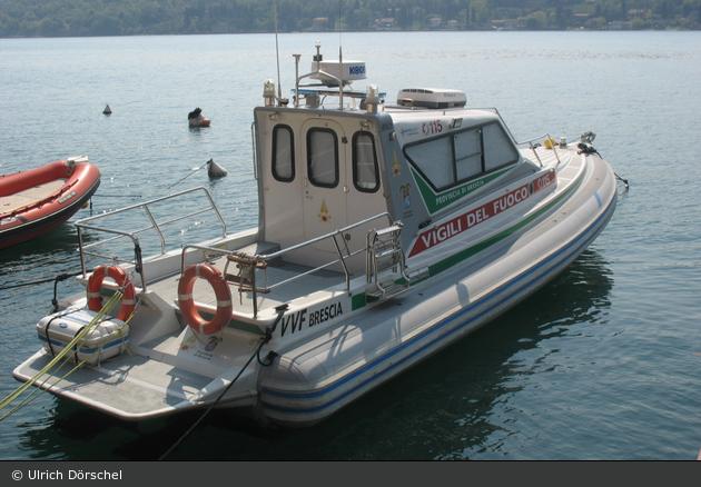 Brescia - Vigili del Fuoco - Arbeitsboot