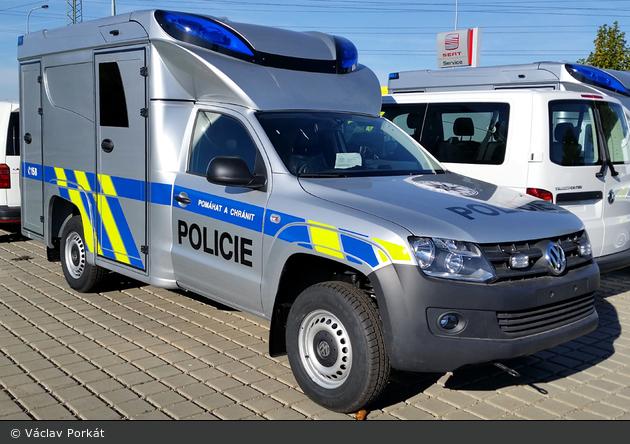 ohne Ort - Policie - Tatortfahrzeug