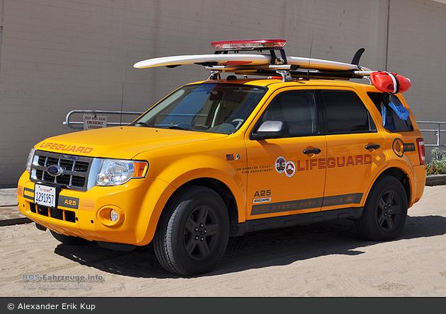 Los Angeles - LACoFD - Lifeguard Patrol A25