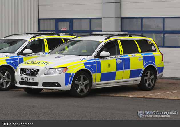 Winchester - Hampshire Police - FuStW