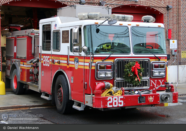 FDNY - Queens - Engine 285 - TLF