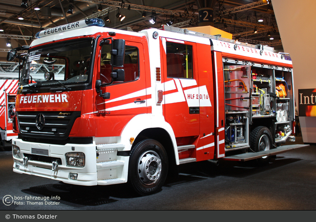 Mercedes-Benz Axor 1833 L - Rosenbauer - HLF 20/16 (a.D.)